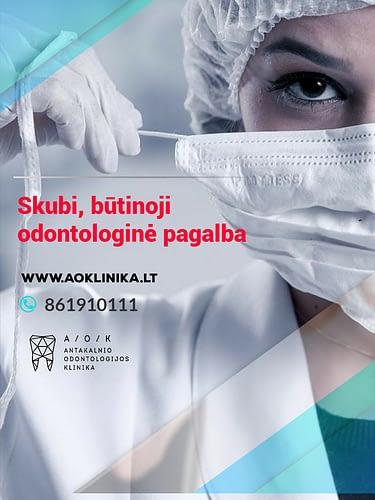 Būtinoji odontologijos pagalba